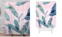 Deny Designs Iveta Abolina Peaches N Cream Y Shower Curtain