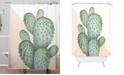 Deny Designs Iveta Abolina Copper Spike Shower Curtain