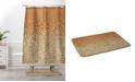 Deny Designs Iveta Abolina Geo Wood 1 Bath Mat