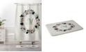 Deny Designs Iveta Abolina Silver Dove Christmas R Bath Mat