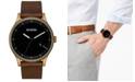 Nixon Men's Station Leather Strap Watch 41mm