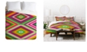 Deny Designs Holli Zollinger Kilimi Multi King Duvet Set