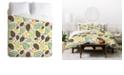 Deny Designs Heather Dutton Winter Woodlands White King Duvet Set