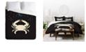 Deny Designs Holli Zollinger Zodiac Cancer King Duvet Set