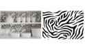 Brewster Home Fashions Zebra Adhesive Film Set Of 2
