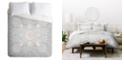 Deny Designs Iveta Abolina Bermuda Rose Twin Duvet Set