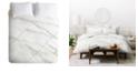 Deny Designs Iveta Abolina Alaskan Gelato II Queen Duvet Set