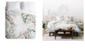 Deny Designs Iveta Abolina Honey Its Nap Time Queen Duvet Set