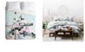 Deny Designs Iveta Abolina Frozen Mint Twin Duvet Set