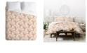 Deny Designs Iveta Abolina Pearl Sand Twin Duvet Set