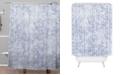 Deny Designs Holli Zollinger Amai Denim Shower Curtain