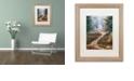 """Trademark Global Cora Niele 'Hiking Trail' Matted Framed Art, 16"""" x 20"""""""