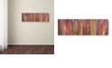 "Trademark Global Cora Niele 'Imperata Grass Scape' Canvas Art, 6"" x 19"""