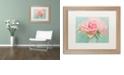 "Trademark Global Cora Niele 'Pink Roses' Matted Framed Art, 16"" x 20"""