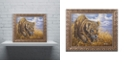 "Trademark Global Jenny Newland 'Playful Curiosity' Ornate Framed Art, 11"" x 14"""