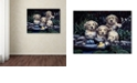 """Trademark Global Jenny Newland 'Puppies To The Rescue' Canvas Art, 35"""" x 47"""""""