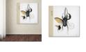 "Trademark Global Nick Bantock 'Morph Insects' Canvas Art, 14"" x 14"""
