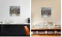 "iCanvas Bird of Prey by Pamela Harmon Gallery-Wrapped Canvas Print - 18"" x 18"" x 0.75"""