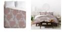 Deny Designs Holli Zollinger Boho Light Floral Queen Duvet Set