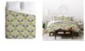 Deny Designs Holli Zollinger Floral Brocade Queen Duvet Set