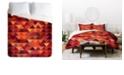 Deny Designs Iveta Abolina Trianglerain King Duvet Set