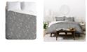 Deny Designs Iveta Abolina Study In Gray X King Duvet Set