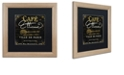 "Trademark Global Color Bakery 'La Cuisine Ii' Matted Framed Art, 16"" x 16"""