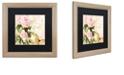 """Trademark Global Color Bakery 'Florabella Ii' Matted Framed Art, 16"""" x 16"""""""
