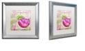 """Trademark Global Color Bakery 'Cocktail Quartet I' Matted Framed Art, 16"""" x 16"""""""