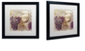"""Trademark Global Color Bakery 'Tuscany Dreams I' Matted Framed Art, 16"""" x 16"""""""