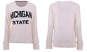 Pressbox Women's Michigan State Spartans Cuddle Knit Sweatshirt