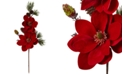 """Nearly Natural 36"""" Magnolia & Pine Artificial Flower, Set of 2"""