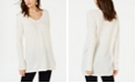 INC International Concepts INC Ribbed Long-Sleeve Tunic Sweater, Created for Macy's