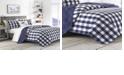 Eddie Bauer Lake House Plaid Blue Twin Quilt Set