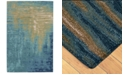 "Liora Manne' Corsica 9143 Reflection Ocean 2' x 7'6"" Runner Area Rug"