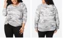 Love Tribe Trendy Plus Size Camo-Print Sweatshirt