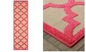 """Oriental Weavers Cayman 660 2'3"""" x 7'6"""" Indoor/Outdoor Runner Area Rug"""