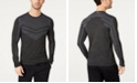 Ideology Men's Colorblocked Seamless Long-Sleeve T-Shirt, Created for Macy's