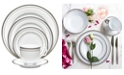 Noritake Rochester Platinum 5 Piece Place Setting