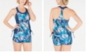 GO by Gossip Breezing By Tankini Top & Swim Shorts