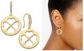 kate spade new york  Gold-Tone Clover Drop Earrings