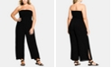 City Chic Trendy Plus Size Strapless Jumpsuit