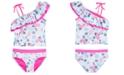 DKNY Big Girls 2-Pc. Paisley-Print Tankini