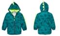 Carter's Toddler & Little Boys Hooded Dinosaur-Print Rain Jacket