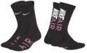Nike Little & Big Boys 2-Pack Air Logo Crew Socks