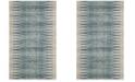 Safavieh Evoke Ivory and Turquoise 3' x 5' Area Rug