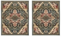 Safavieh Kashan Blue and Beige 8' x 10' Area Rug