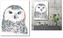 """Courtside Market GG Funky Owl Portrait IV Gallery-Wrapped Canvas Wall Art - 18"""" x 24"""""""