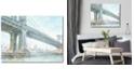 "Courtside Market Iconic Watercolor Bridge III Gallery-Wrapped Canvas Wall Art - 16"" x 20"""