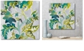 "Courtside Market Batik Vines II Gallery-Wrapped Canvas Wall Art - 20"" x 20"""